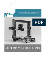 Prusa i3 Rework Assembly Instructions