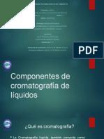 Componentes de Cromatografía de Liquidos