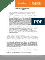 World Health Organization Patient Safety