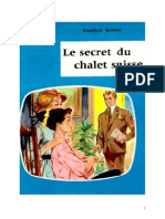 Caroline Quine Les Sœurs Parker 20 ODEJ Le Secret du chalet suisse 1958.doc