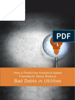 How a Predictive Analytics-based Framework Helps Reduce Bad Debts in Utilities