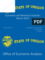 Oregon Revenue Forecast Feb 19