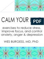 Calm Your Mind_ Exercises to Reduce Stre - Burgess, Wes