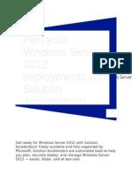 Acelerador de soluciones WindowsServer2012 SAT