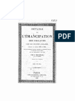 Emencipation des esclaves 1836