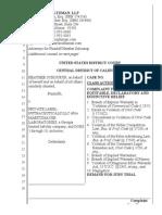 2015.02.19 Class Action Complaint Against PLN