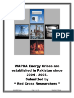 Research Report on WAPDA Energy Crises