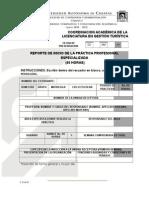 FFCA 51 REPORTE SEMANAL DE PRACTICA PROFESIONAL INICIO.doc