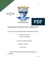 Plan de Comunicación Para Federación Deportiva del Azuay