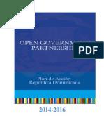 2do Plan de Acción de Gobierno Abierto (2014) - República Dominicana