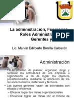 Funciones de La Administraciôn