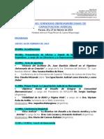 I Jornadas Iberoamericanas de Capacitación Judicial