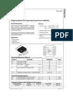 Transistor Mosfet Ttl de Tres Faible Rdson - FDS6570A-111155