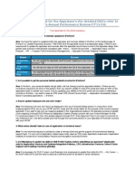 SSD IPerform Mandatory FAQ