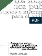 Aspectos Sobre Politica Publica