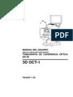 3D OCT-1 Maestro Ver. 1.2 User Manual - Spanish