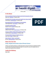 Cooler Heads Digest 13 February 2015