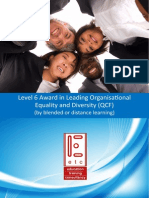 ATHE Level 6 Award in Leading Organisational Equality and Diversity