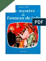 Caroline Quine Les Sœurs Parker 15 ODEJ Le mystère del'anneau de jade 1952.doc