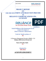 Mbe Reliance Project