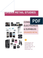 Consumer Durables - Retail Study