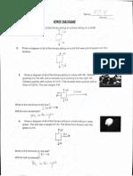 Force Diagrams KEY