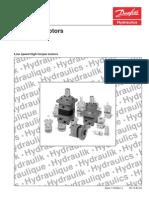 Catalogo Motores OMT315 Danfos