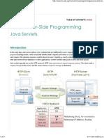 Java Servlets - A Tutorial