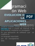 Evolución de Las Aplicaciones Web