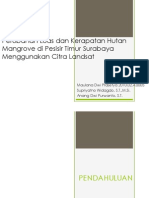 Identifikasi Mangrove menggunakan Landsat 7
