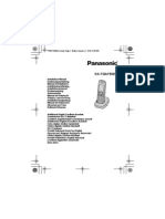 Panasonic Kx Tga750ex