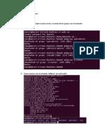 Actividad Usuarios en linux