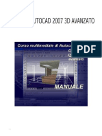 Dispensa Di Autocad 2007 - 3d Avanzato