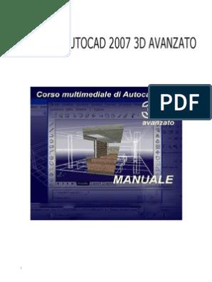 Dispensa Di Autocad 2007 3d Avanzato