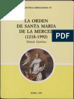 La Orden de Santa María de La Merced