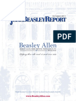 The Jere Beasley Report, Oct. 2011