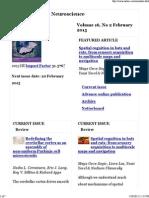 Home _ Nature Reviews Neuroscience