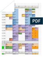 MArch 2014-2015 Timetable v4