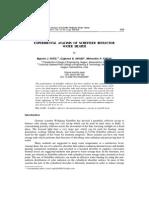 Evaluación Reflector Scheffler
