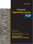 TC 7-100-3 Irregular Opposing Forces 2014