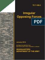TC 7-100-3 Irregular Opposing Forces 2014