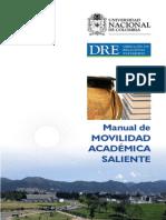Manual de movilidad académica saliente