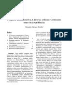 Pesquisa Administrativa x Teorias Críticas