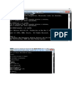 Progracion CMD Bases Datos