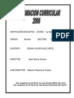 Programación 3º La Recoleta-2006