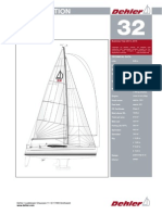 Specifications Dehler 32 274410
