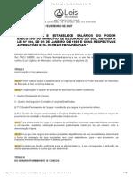 Plano de Cargos e Carreiras de Eldorado Do Sul - RS