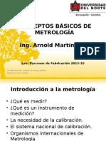 Conceptos Básicos de Metrología