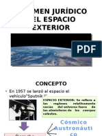 Régimen Jurídico Del Espacio Exterior