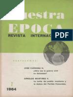Revista Internacional - Nuestra Epoca N°7 - julio 1964